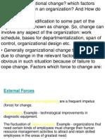 Organizational Change- 27 Oct.