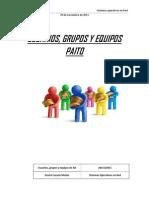Usuarios Grupos y Equipos Paito
