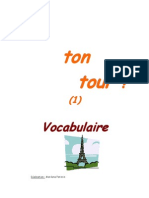 A Ton Tour Vocabulaire