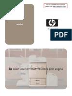 Hp Clj 9500 9500 Mfp Manual Toc