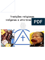 Tradições religiosas indígenas e afro-brasileiras