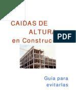 Caidas de Altura en Construcción