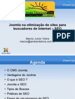 Joomla Na Otimizacao de Sites Para Bus Cad Ores de Internet SEO