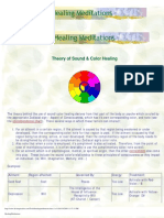 Sound Color Healing Meditations