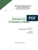 Proteccion Civil en Venezuela y El Mundo