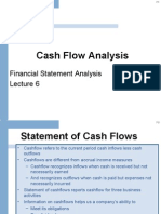 6. Cash Flow Analysis