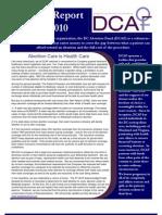DC Abortion Fund AnnualReportFY2010