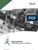 notas prácticas requisitos para la instalación