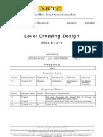 ARTC - Level Crossing Design - ESD-03-01
