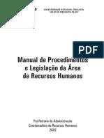 Modelo Manual Procedimentos