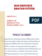 Human Resource Information System-ppt