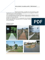 Informe de Tornquist, Bicisenda