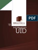 Informativo UID - Boletín