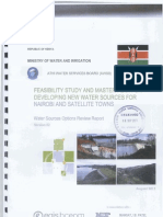 Feasibility Study and Master Plan for Developing New Water Sources for Nairobi and Satellite Towns - Part 1 - Chapter 1-4