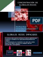Concentrado de Globulos Rojos