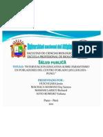 Expo Sic Ion Salud Parasitismo Proyectooriniginal