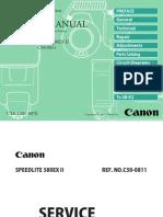 Canon 580EX II Repair Manual
