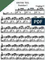 Bach - Wtk Bk1