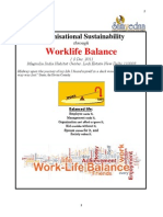 Workbook Organisational Sustainability