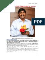 Case on Kasturi- Roses Exporter