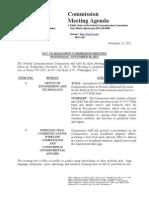 FCC Meeting Notice