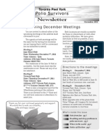 TPPS Nov 2011 Newsletter