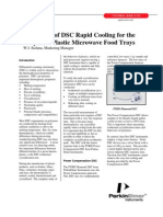 Importance of DSC Rapid Cooling for the Analysis of Plastic Microwave Food Trays