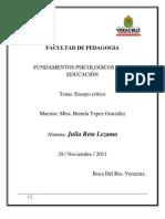 Ensayo Final Julia Reta Lezama