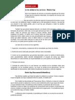 Definicion Calidad Servicios Modelo GAP