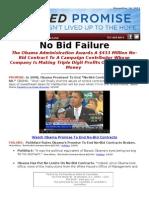 Failed Promise - No Bid Failure