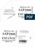 Manual de Sap 2000 en Español