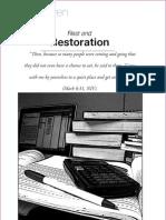 Rest and Restoration CQ 10 Q2 07
