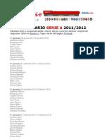 PDF rio Serie a 2011 2012