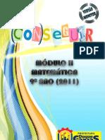 AP Mat 9 Ano Mod II Prof 2011