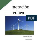 Generación eólica