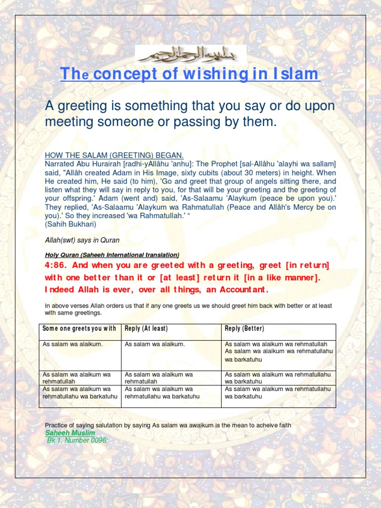 The Concept Of Wishing In Islam Monotheism Islamic Theology