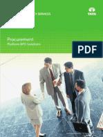 TCS Procurement Platform BPO Solution Brochure v2.2