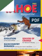 Tahoe Magazine Winter 2011/12