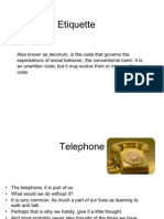 Telephone Etiquette by Raghavv 212