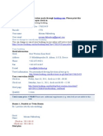 Booking Confirmation Ilissia 10 06 2011