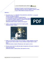 Historia del Arte - Junio PAU 2000/2001 *RESUELTO