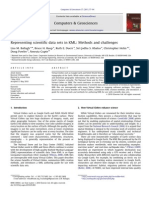 Representing Scientific Data Sets in KML- Methods and Challenges