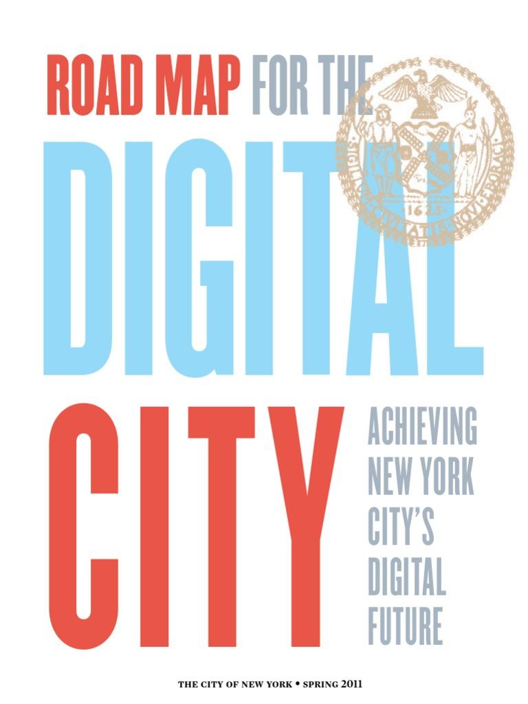 Doitt Nyc Map.New York City S Digital Road Map Redes Sociales Y Digitales