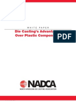 Die Casting's Advantages Over Plastic Component