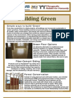 Green&Wall Insulation Handout