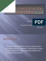 Asma Casi Fatal en Pediatria