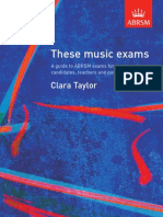 These Music Exams