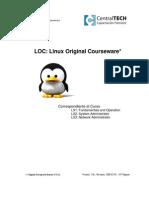Linux Original Courseware - LX1, LX2 y LX3