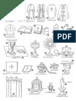 Guía de objetos litúrgicos