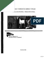 Manual de Crianza y Manejo de Cabras y Ovejas